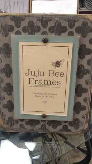 $42.95 4x6 Gray and Teal Frame
