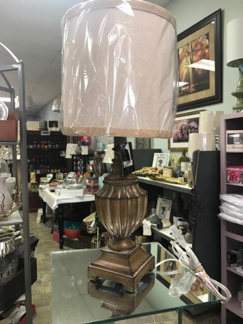 $40.95 Small Brown Lamp