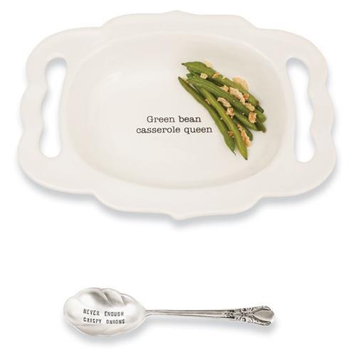 """$39.95 """"Green Bean Casserole Queen"""" Server"""