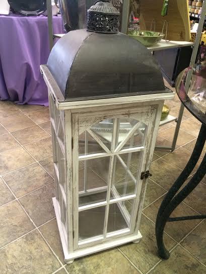 $99.99 Lantern - White