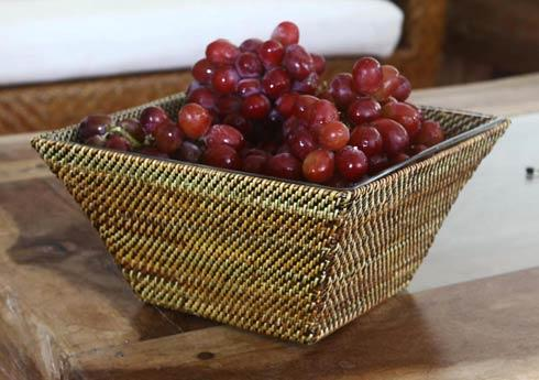$164.45 Basket with Glass Bowl