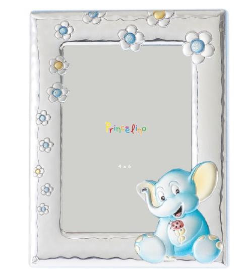 $45.00 Elephant Blue 4x6 Frame