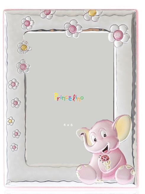 $45.00 Elephant Pink 4x6 Frame
