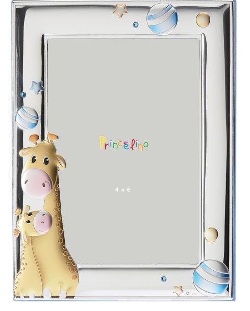 $45.00 Giraffe Blue 4x6 Frane