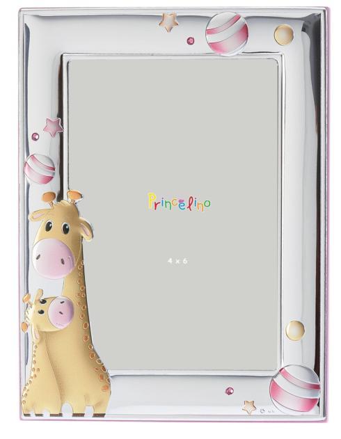 $45.00 Giraffe Pink 4x6 Frame
