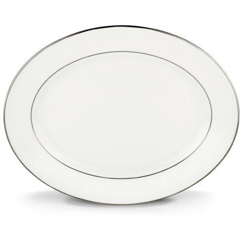 $286.00 Lenox Floral Veil Oval Platter
