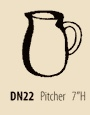 $96.00  Pitcher
