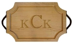 $173.00 18x12 Scalloped Board with Handle