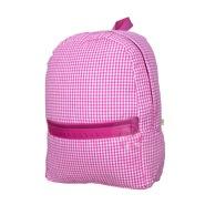 $34.00 Hot Pink Gingham Med Backpack