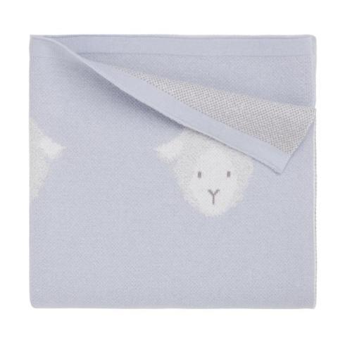$48.00 Blue Lamb Blanket