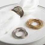 $7.00 Silver Bangle Napkin Rings