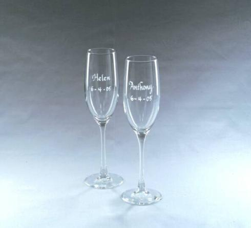 $50.00 Classic Crystal Flute - Pair of Two
