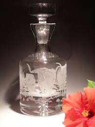$198.00 36 oz. Etched Decanter
