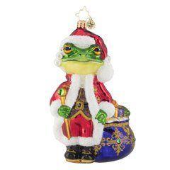 $63.00 A Froggy Santa