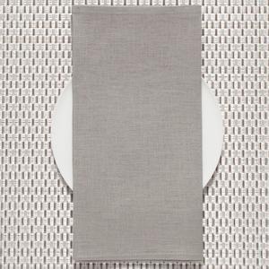 $11.00 Pale Gray Linen Napkin