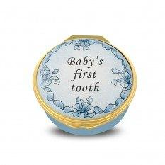 $135.00 First Tooth Blue Box