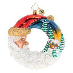 $66.00 Santa\'s Silent Night Wreath