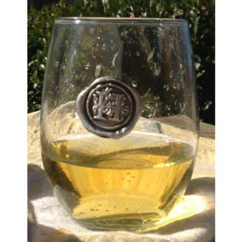 $14.95 Initial H stemless wine