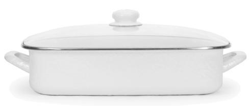 $120.00 Lasagna Solid Pan Set - White
