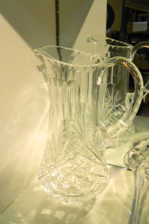 $74.99 Crystal Pitcher