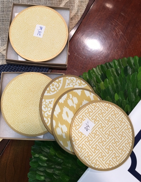 $24.99 Set of 4 Coasters