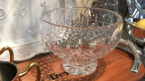 $79.99 Footed Crystal Bowl