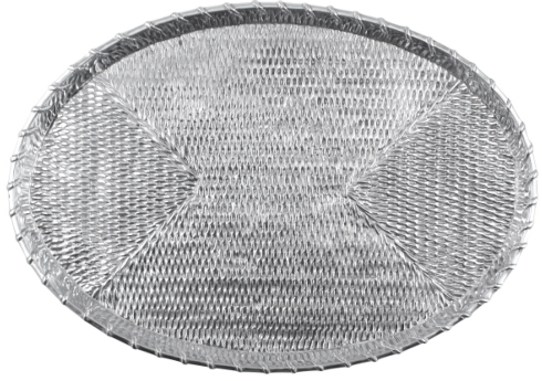 $165.00 Basketweave Oval Tray