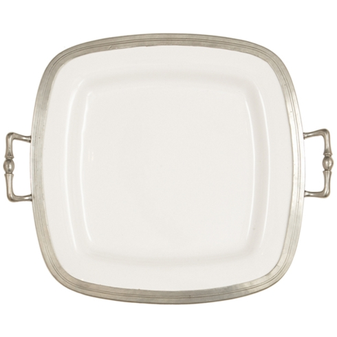 $399.00 Tuscan Square Tray with Handles