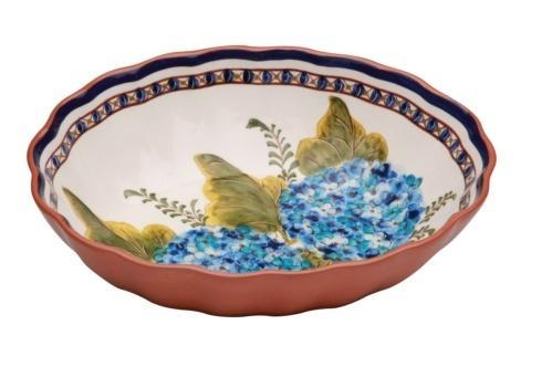 $92.50 Oval Scalloped Bowl