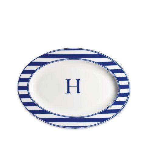 $85.00 Oval Platter with Monogram