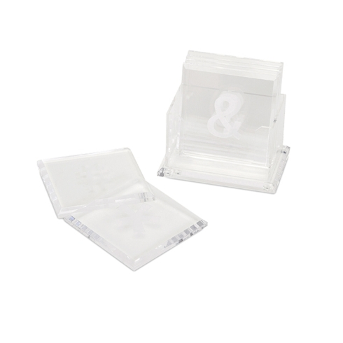 $48.00 Symbol Coasters with Caddy