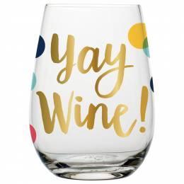 $13.50 Yay wine glass