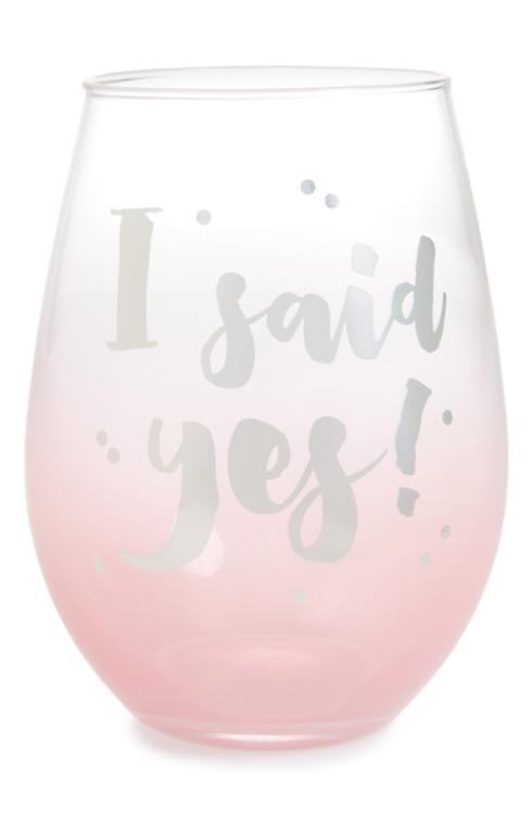 $13.50 I said yes wine glass