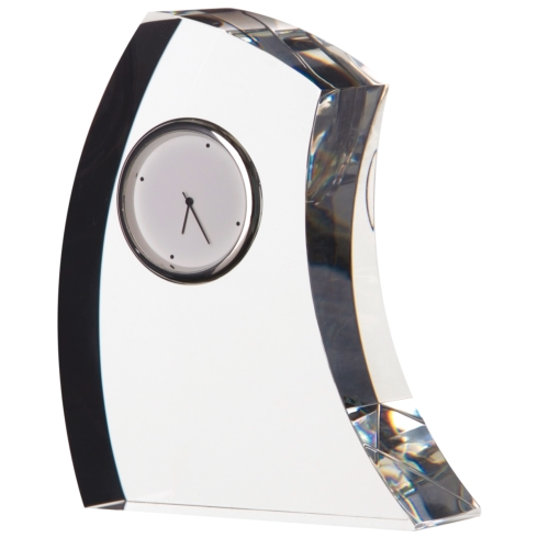 $115.00 Large Crescent Clock