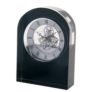$200.00 Curve Clock Black