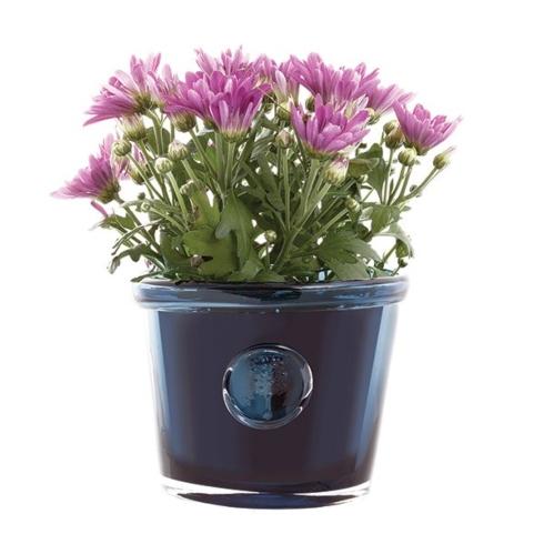 $85.00 RHS-2L Ink Blue Flower Pot