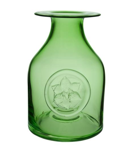 $80.00 Lily/Green Flower Bottle