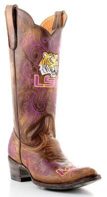 $399.99 LSU Boots-size 8.5