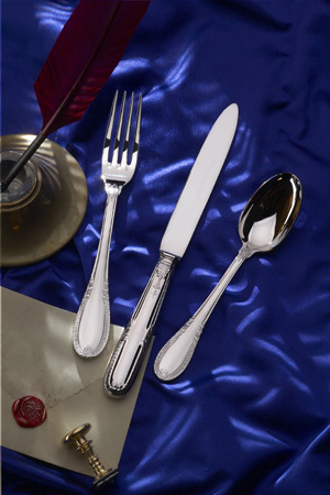 $70.00 Impero Stainless 5 Piece Place Setting