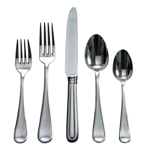 $70.00 Ascot Stainless 5 piece place setting
