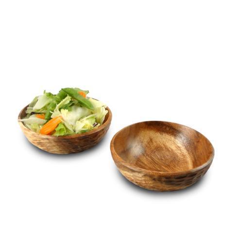 $14.95 Acacia Honeycomb Side Salad Bowl