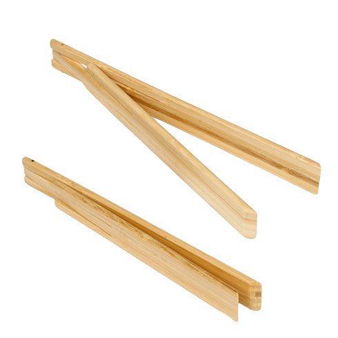 $7.95 Natural Bamboo Spring Tongs