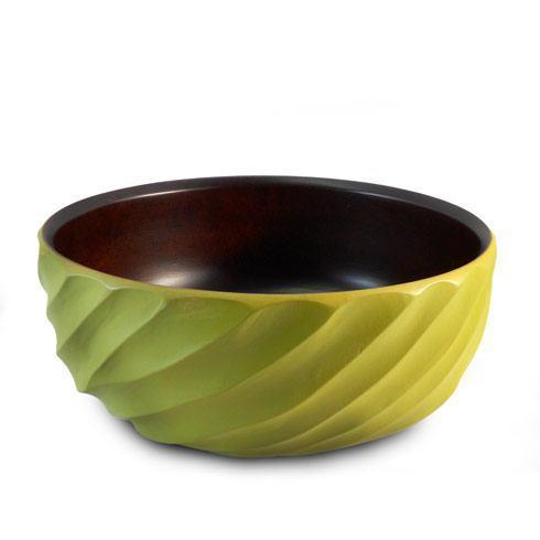 $50.95 Avocado Spiral Bowl