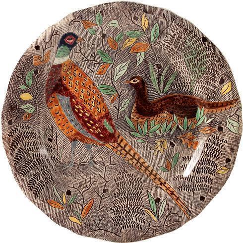 $320.00 Dinner Plate, Pheasant