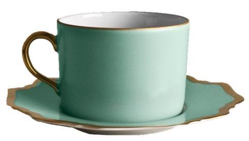 $103.00 Anna Weatherly Anna\'s Palette - Aqua Green - Cup and Saucer
