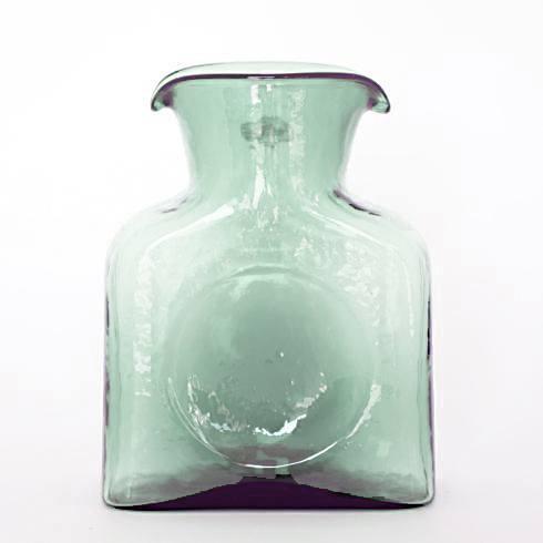 $21.95 Glass Pitcher Blenko Style