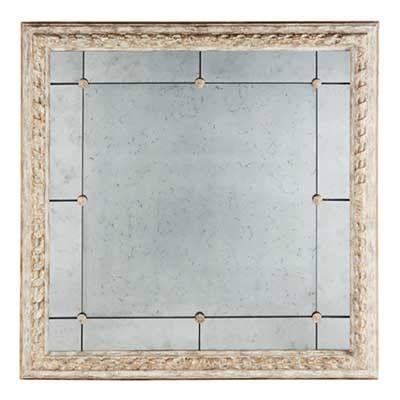 """$1,395.95 Bright Gold Bilzen Mirror 48"""" x 48"""""""