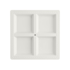 $47.95 Square Melamine Divided Platter