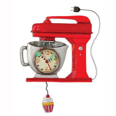 $59.00 Vintage Mixer Red Clock