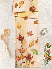 $44.00 Autumn Leaves Runner